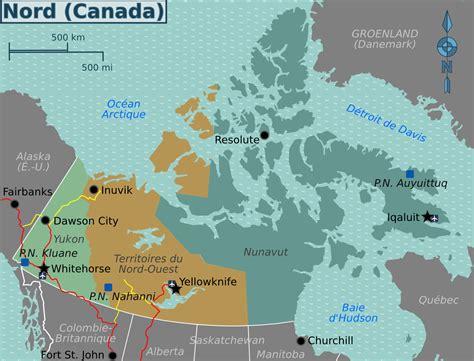 www maps canada northern canada map