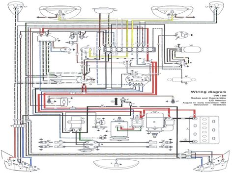 vw tech article 1968 69 wiring diagram autobonches