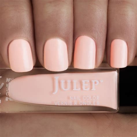 light color nail polish janet pale peach soft focus semi matte express
