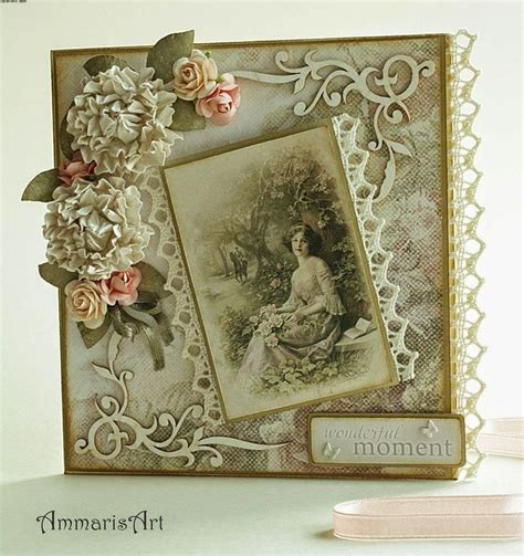 17 best ideas about shabby chic cards on