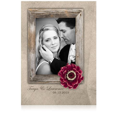 Wedding Announcement Vintage by Vintage Wedding Announcements With Photos Photo Card Chef