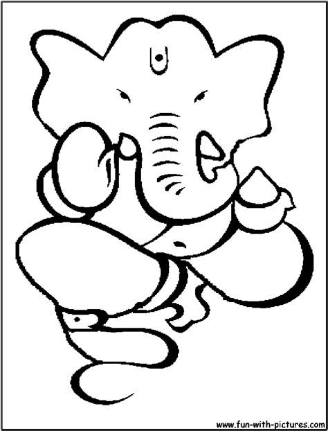 printable ganesh images hindu coloring pages free printable colouring pages for
