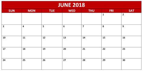 printable monthly calendar waterproof june 2018 waterproof pdf calendars calendar 2018 printable