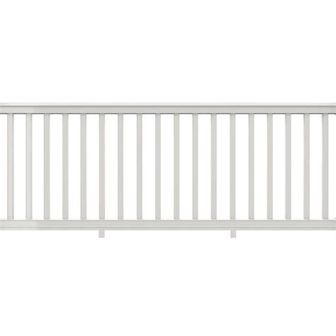 How To Paint Stair Banisters Veranda Premier 8 Ft X 36 In White Vinyl Rail With