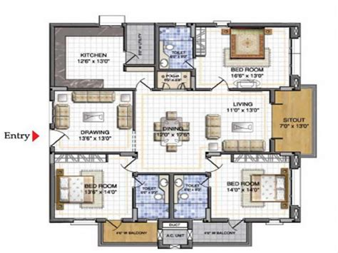 Draw House Plans Online by Draw House Floor Plans Online