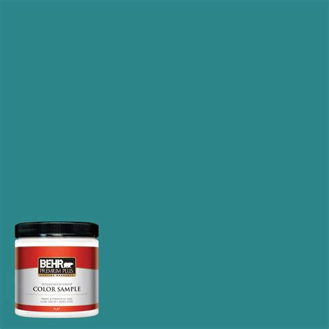 behr premium plus ultra 8 oz 530d 6 teal bayou interior
