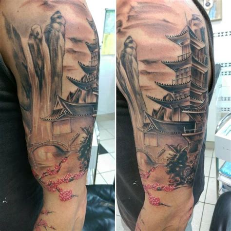 japanese waterfall tattoo designs 17 best ideas about waterfall on water