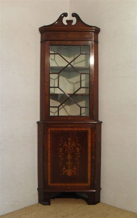 Corner Display Cabinets by Corner Display Cabinet Antiques Atlas