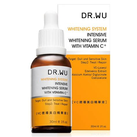 Glansie Acne Package Revitalizing Whitening Serum dr wu intensive whitening serum with vitamin c