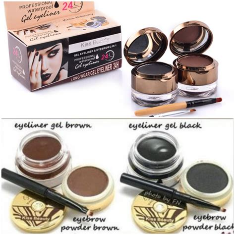 Eyebrow Powder Magic Eyeliner 2in1 eyeliner gel poriskosmetik
