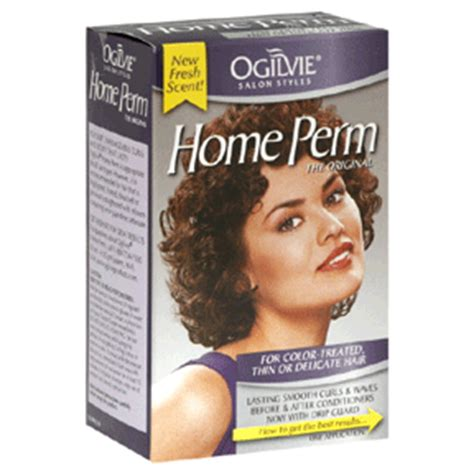 ogilvie home perm color treated thin or delicate hair 1