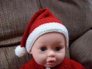 ravelry: newborn santa hat pattern by nancy pietraszek