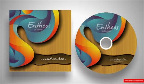 How To Make A Cd Cover Out Of Paper - make your own cd cover with coreldraw entheos