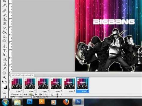 belajar membuat poster dengan photoshop cs3 tutorial animasi gif dalam adobe photoshop cs3 mp4 youtube