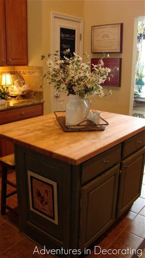 Adventures In Decorating Kitchen Island Making A Home Kitchen Island Centerpiece Ideas