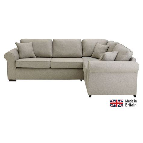 buy corner sofa online buy collection erinne fabric right hand corner sofa grey