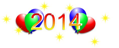 clipart happy new year 2014