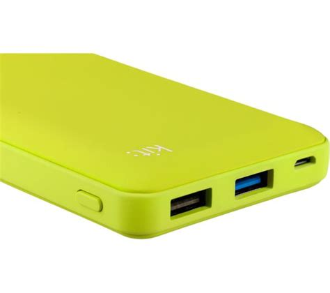 Power 1203 Powerbank 12000 Mah buy kit fresh 12000 mah portable power bank green free delivery currys