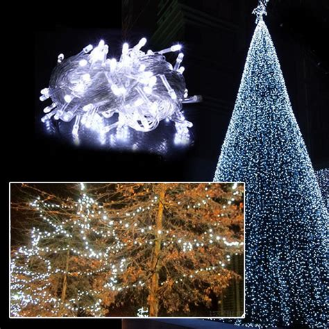 10m 100 Led Christmas White Wedding Party Decor Outdoor String Lights For Weddings