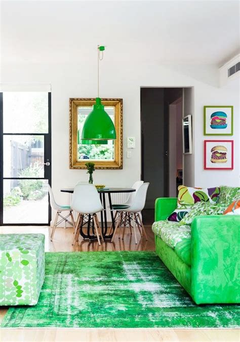 kelly green overdyed kilim rug living room green green