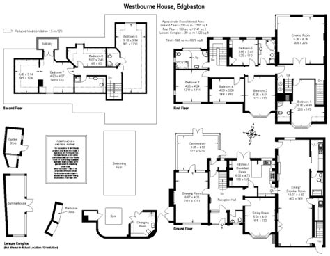 halliwell manor floor plan 8 bedroom detached house for sale in westbourne road
