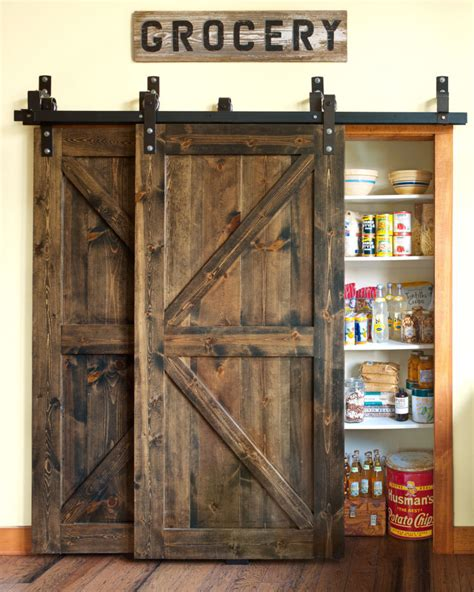 27 Awesome Sliding Barn Door Ideas For The Home Homelovr The Barn Door Menu
