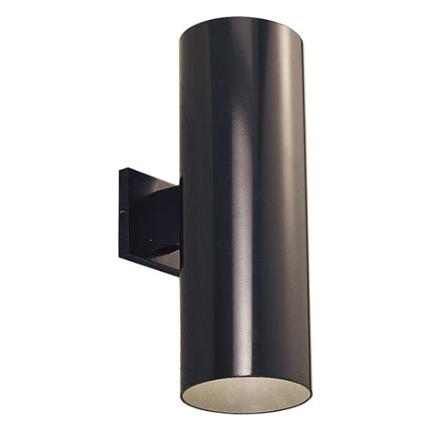 Outdoor Sconce Lights Progress Lighting P5642 2 Light Aluminum Cylinder Outdoor Sconce Atg Stores