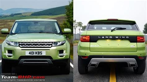 land wind x7 landwind x7 range rover evoque clone launched in china