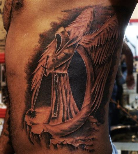 gothic angel tattoo designs 25 best ideas about sleeve on