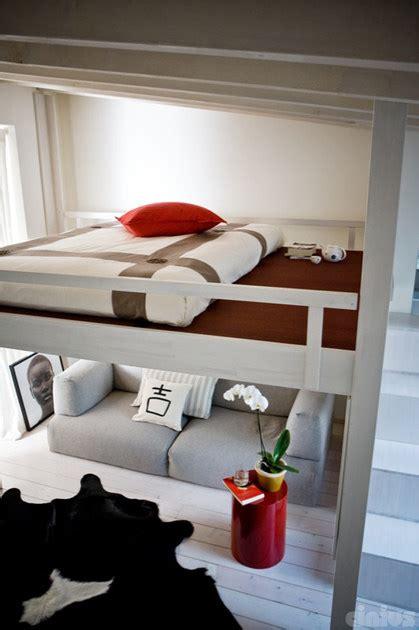 letto a soppalco cinius letto a soppalco in legno rising cinius