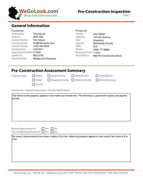 property management inspection report template property management inspection report template choice