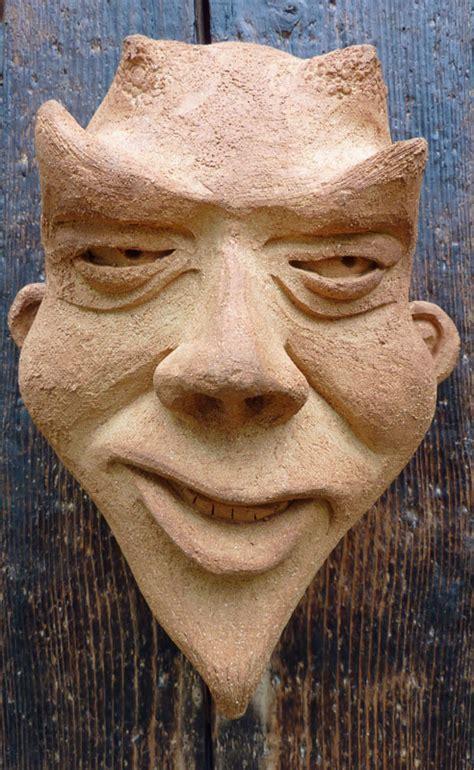 masken ton atelier f 252 r keramik und holz erika und paul