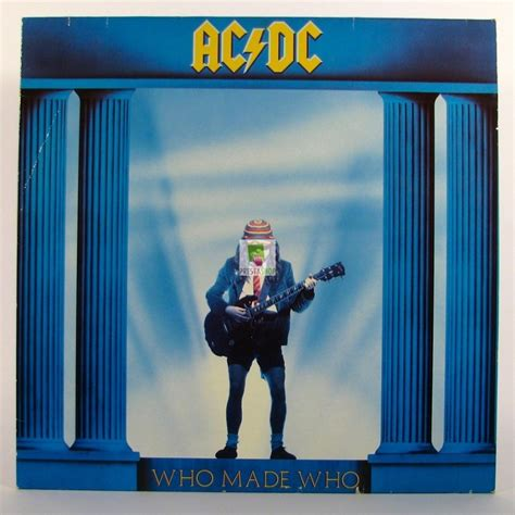 who makes ac dc who made who vinyl square lp vinyl records album
