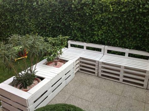 Banc Palette by 5 Id 233 Es Pour Recycler Des Palettes En Bois Dans Jardin