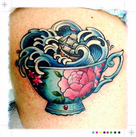 old school tattoo new zealand the 25 best teacup tattoo ideas on pinterest