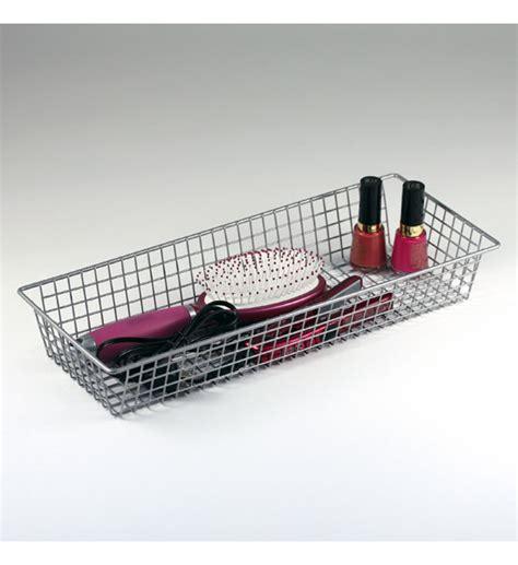 15 inch drawer organizer 6 x 15 inch grid drawer organizer in wire baskets