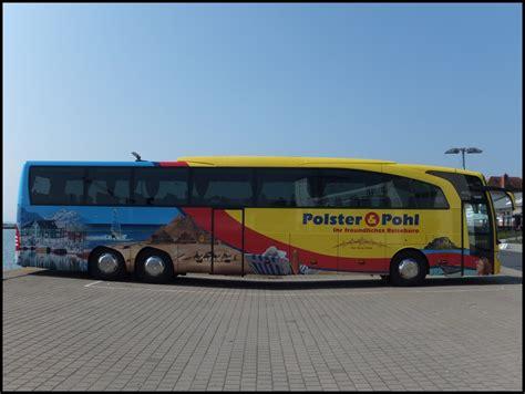 polster und pohl busreisen mercedes travego polster pohl aus deutschland im