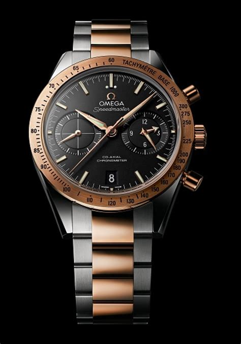 503331 gold moon sharp arrow omega speedmaster 57 celebrates birth of the iconic watch