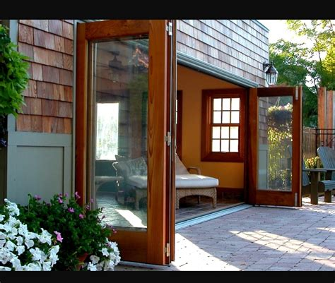 glass panaoramic bi fold doors panoramic bi folding doors amberwood doors inc