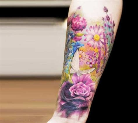 tattoo real flower 17 best ideas about realistic flower tattoo on pinterest