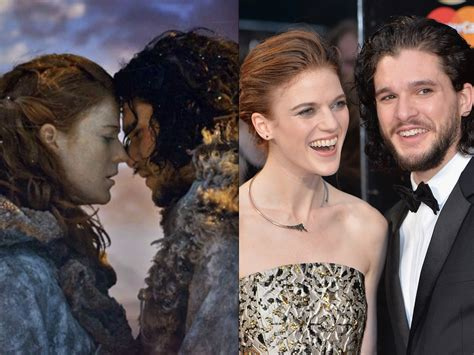 game of thrones actor engaged game of thrones stars kit harington and rose leslie
