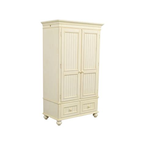 white storage armoire 80 off ethan allen ethan allen white armoire storage