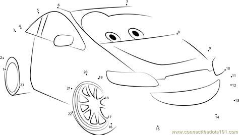 printable dot to dot cars the racer dot to dot printable worksheet connect the dots