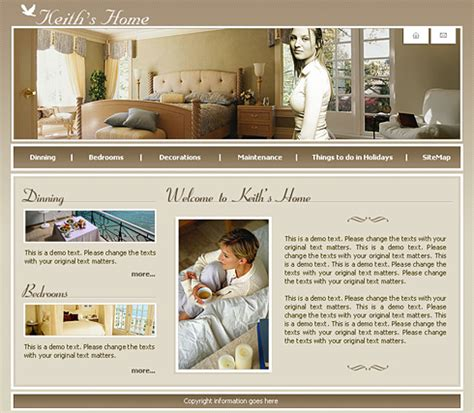 home interior website interior design website template templates website
