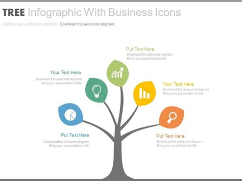 44947340 Style Hierarchy Tree 1 Piece Powerpoint Presentation Diagram Infographic Slide Tree Template For Powerpoint