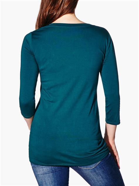 V Neck 3 4 Sleeve T Shirt 3 4 sleeve v neck maternity t shirt thyme maternity