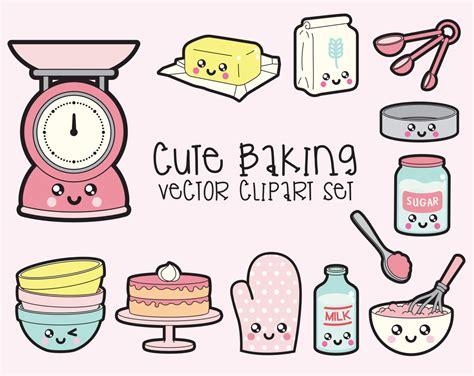 kawaii clipart premium vector clipart kawaii baking clipart kawaii baking
