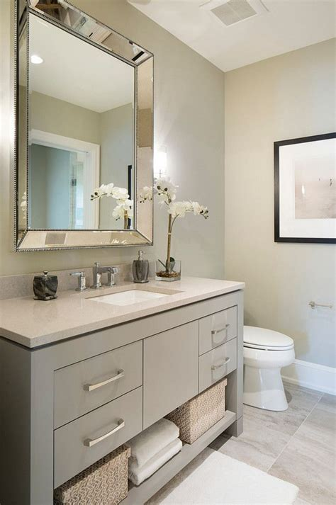 grey bathroom paint sherwin williams sw 7673 pewter cast grey vanity paint
