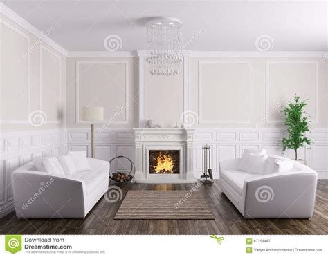 interior design sofas living room classic interior of living room with sofas and fireplace
