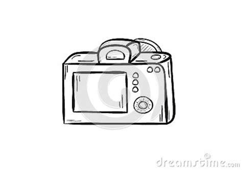 camera back side stock vector image: 38956801